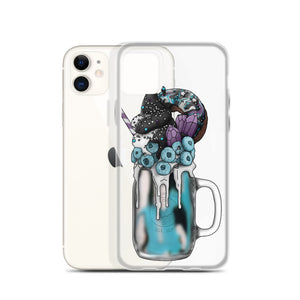 "Monster Milkshake ""The Mystic"" - Blue Raspberry - iPhone Case"
