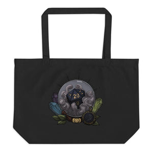 Libra D20 Oversized Tote Bag