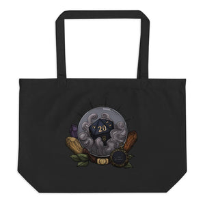 Leo D20 Oversized Tote Bag