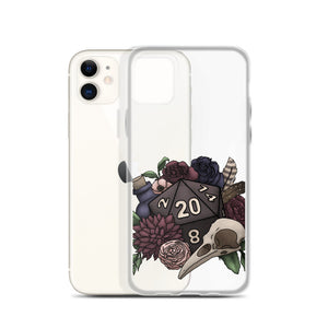 Necromancer D20 iPhone Case - D&D Tabletop Gaming