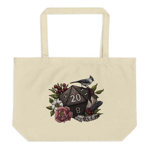 Druid Class D20 Oversized Tote Bag