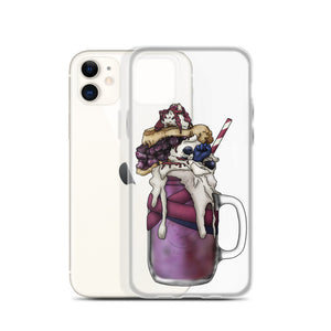 "Monster Milkshake ""The Monk"" - Blueberry Pie - iPhone Case"