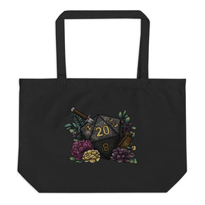Assassin Class D20 Oversized Tote Bag