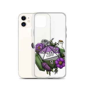 Genderqueer Pride D20 iPhone Case - D&D Tabletop Gaming