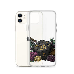 Assassin D20 iPhone Case - D&D Tabletop Gaming