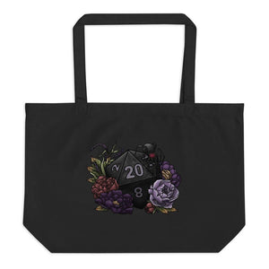 Drow D20 Oversized Tote Bag