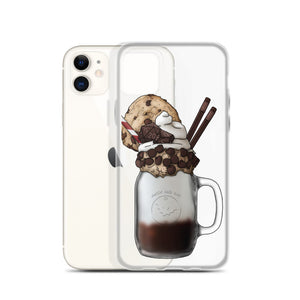 "Monster Milkshake ""The DM"" - Chocolate Chip - iPhone Case"