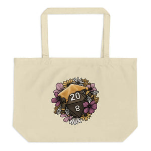 Honeycomb D20 Oversized Tote Bag