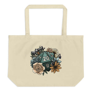 Cleric Class D20 Oversized Tote Bag