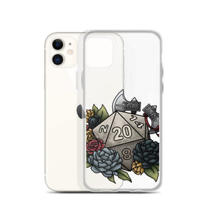 Barbarian Class D20 iPhone Case - D&D Tabletop Gaming
