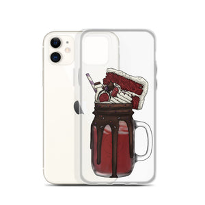 "Monster Milkshake ""The Sorcerer"" - Red Velvet - iPhone Case"