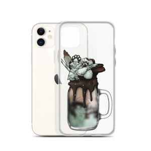 "Monster Milkshake ""The Druid"" - Chocolate Mint - iPhone Case"