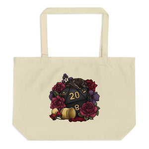 Vampire D20 Oversized Tote Bag