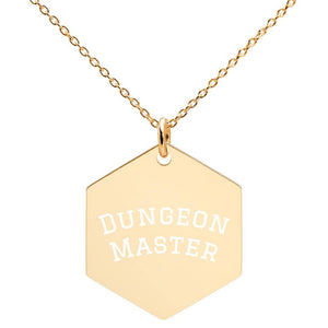 Dungeon Master Engraved Necklace