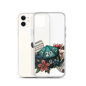 Bard Class D20 iPhone Case - D&D Tabletop Gaming