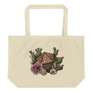 Desert D20 Oversized Tote Bag