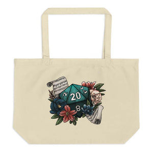 Bard Class D20 Oversized Tote Bag