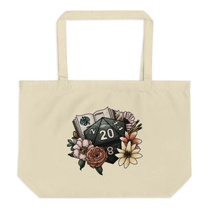 Dungeon Master D20 Oversized Tote Bag