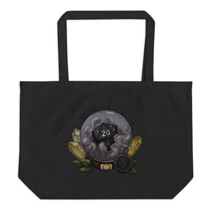 Gemini D20 Oversized Tote Bag - Birch + Bat Studios