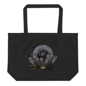 Cancer D20 Oversized Tote Bag