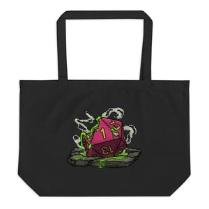 Acid Pit Natural 1 Oversized Tote Bag