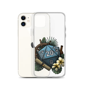 Seafaring D20 iPhone Case - D&D Tabletop Gaming