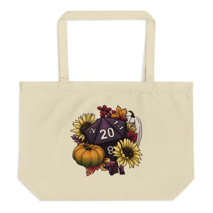 Harvest D20 Oversized Tote Bag