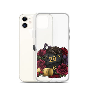 Vampire D20 iPhone Case - D&D Tabletop Gaming