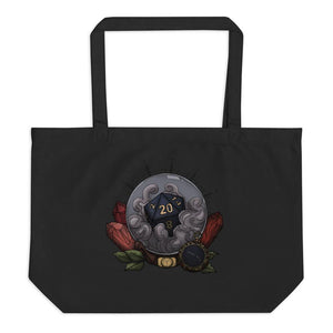 Aries D20 Oversized Tote Bag