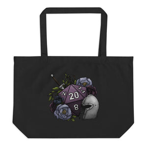 Fighter Class D20 Oversized Tote Bag