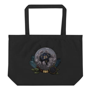 Aquarius D20 Oversized Tote Bag