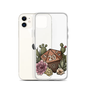 Desert D20 iPhone Case - D&D Tabletop Gaming