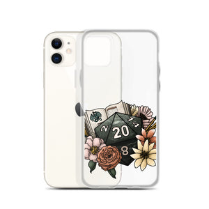 Dungeon Master D20 iPhone Case - D&D Tabletop Gaming