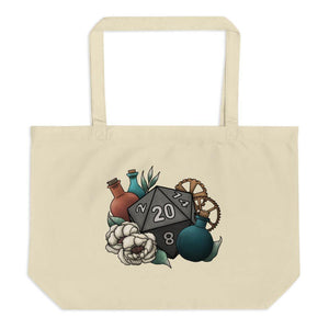 Artificer Class D20 Oversized Tote Bag