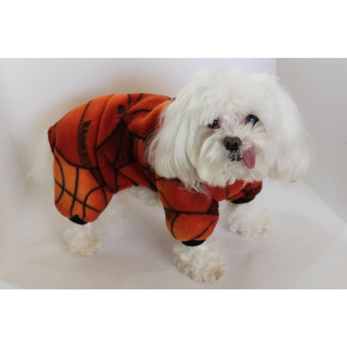 Basketball Dog Pajama Onesie Fun Sports Fleece Onesies For Dogs - Dog Pajamas