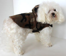 Load image into Gallery viewer, Camouflage Dog Hoodie, Camo Fleece dogs jacket coat