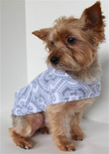Load image into Gallery viewer, Fleece Dog Hoodie, XS and S Silver Medallion Dogs Jacket