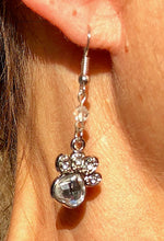 Load image into Gallery viewer, Dog Lovers Dangle Earrings, Silver Pet theme
