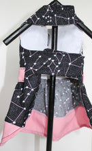 Load image into Gallery viewer, Dog Dress, Black Pink Constellation LOVE dogs dresses