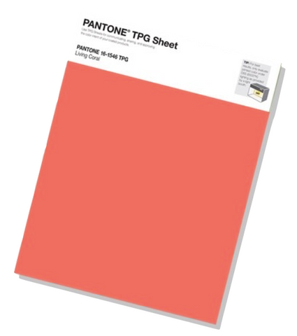 Pantone colour of the year TPG