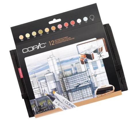Copic Marker Architectural 12 Set
