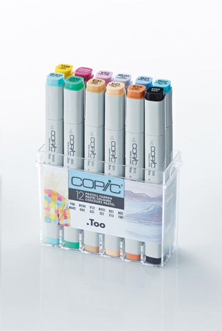 Copic Markers Pastel 12 Set