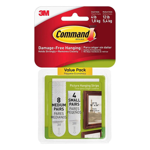 3M Command Medium Small Value Pack