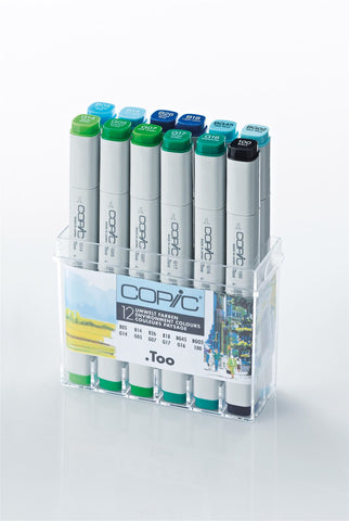 Copic Marker Environment 12 Set