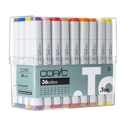 Copic Marker 36 Colour set