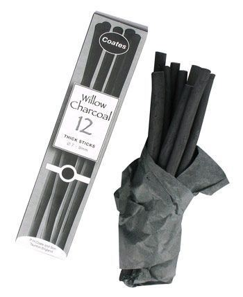 Coates Willow Charcoal Thick