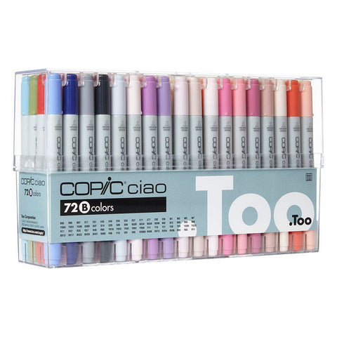 Copic Ciao 72 set B