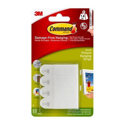 3M Command Small Picture Hanging Strips 17202