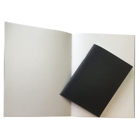 A5 Stapled bound white cartridge paper sketchbooks 140gsm paper 20 leaves