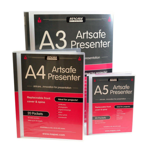 Mapac Artsafe Presentation Folders